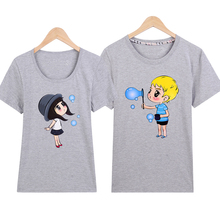Couple T Shirt For Lovers Women Men Hot Valentine s Day 16 colors Couple Shirt S