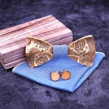 Dřevěný motýlek set – Edgar