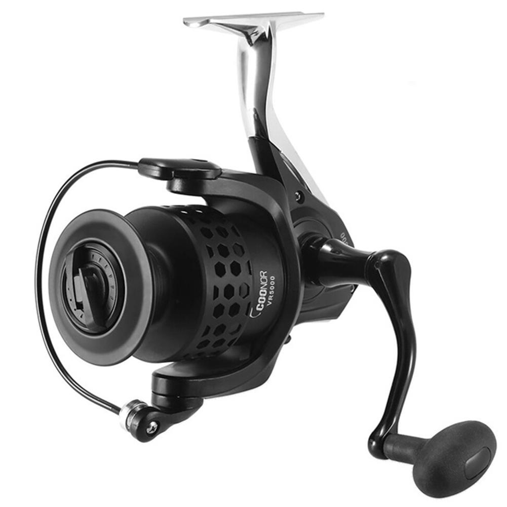 Mounchain Spinning Fishing Reels Metal Wire Cup Ultra Smooth 12+1BB Powerful Bass Gears Reel