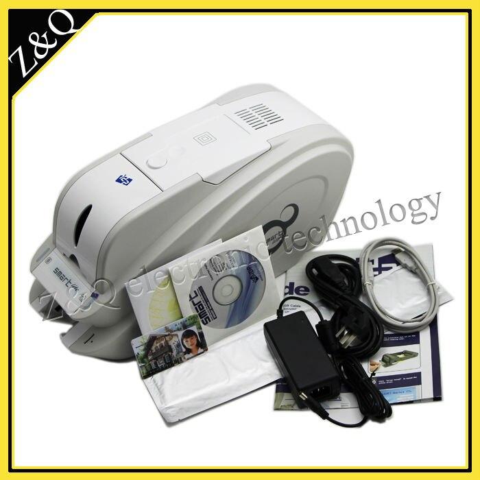 IdP Смарт 50 s id-карты принтера на одной стороне со светодиодной полиграфического оборудования с двумя 650643 YMCKO лента