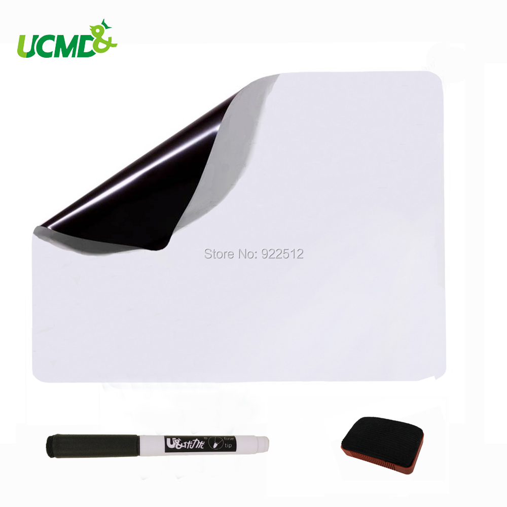Magnetic Board Dry Erase Whiteboard A3 Size 0.5 mm thick for Kitchen Fridge Message Board Memos Notes free shipping hot sale or01a4 front wheel motor 80mm kit ce en15194 approved