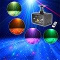 Mini PortableIR Remote Fantasy Aurora RG Laser DPSS Projector Lighting RGB LED Mixing Effect PRO Show Stage Lights LL100RG
