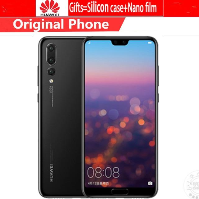 Version mondiale HuaWei P20 Pro CLT-L29 6.1 pouces Kirin 970 IP67 Smartphone 6 go RAM 128 go ROM 40.0MP Android 8.1 chargeur rapide NFC