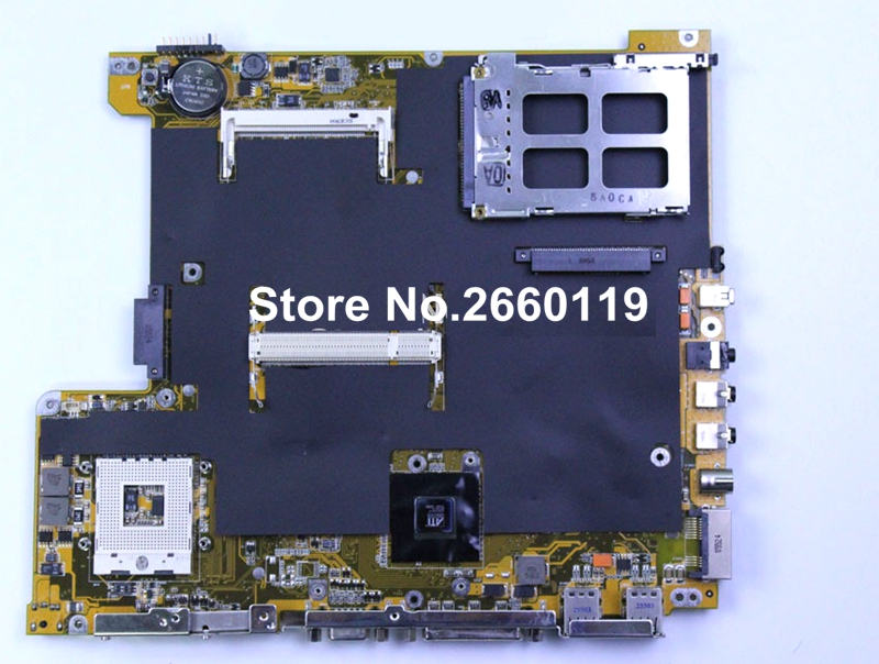 ФОТО 100% Working Laptop Motherboard For Asus A6VA Main Board Fully Tested and Cheap Shipping