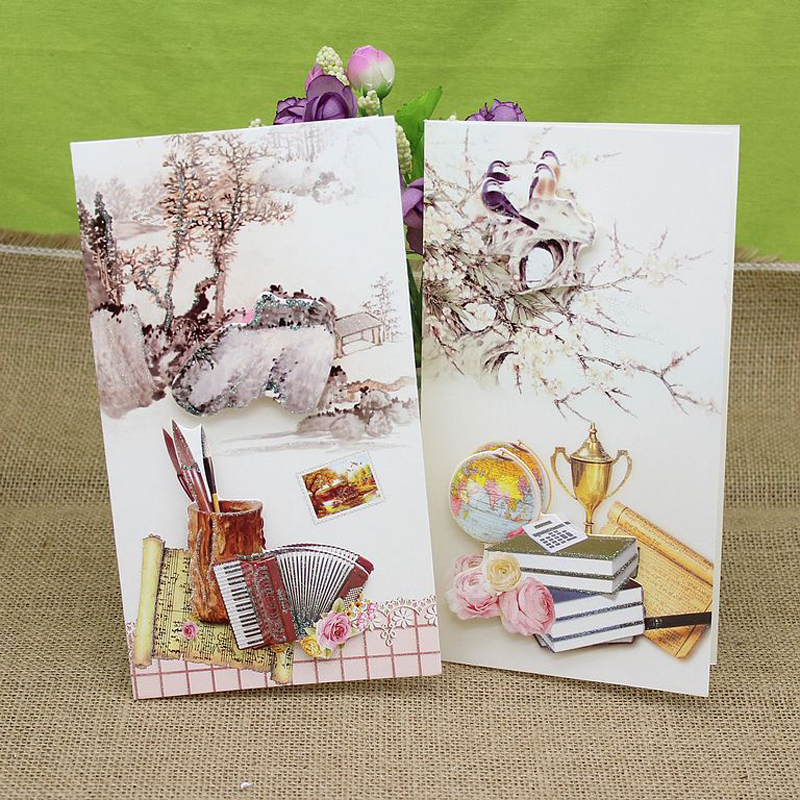 (16 Pieces/lot)New Arrival Creative Beautiful Scenery