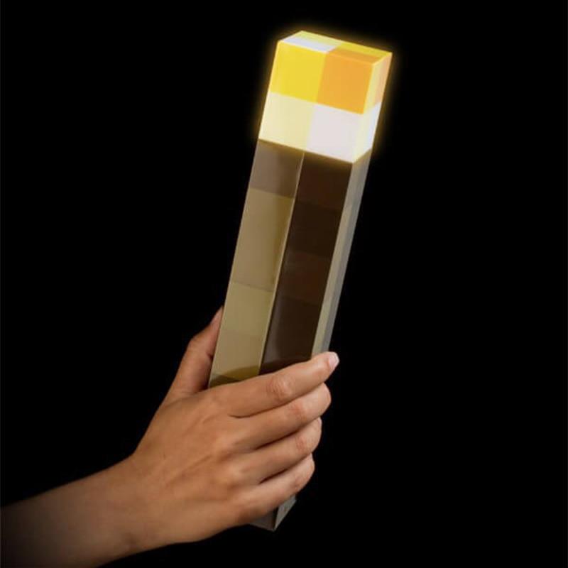 Nep Fakkel Kopen.Goede Kopen Originele Licht Up Minecraft Fakkel Led Lamp