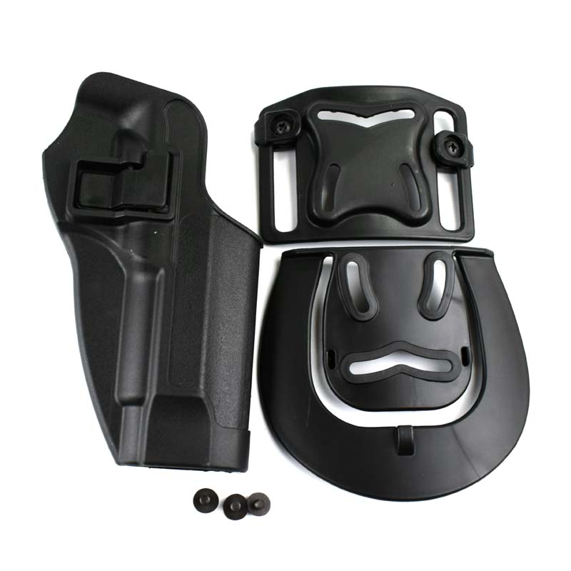 Image 3 - Tactical Combat Belt Holster Airsoft Pistol Holster Beretta M9 92 96 92fs Waist Holster Military Hunting Airsoft Gun Holster-in Holsters from Sports & Entertainment