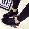 Fashion New Spring Casual Shoes Lace Up Women Trainers shoes Comfort Platform Air walking Shoes Round Toe
