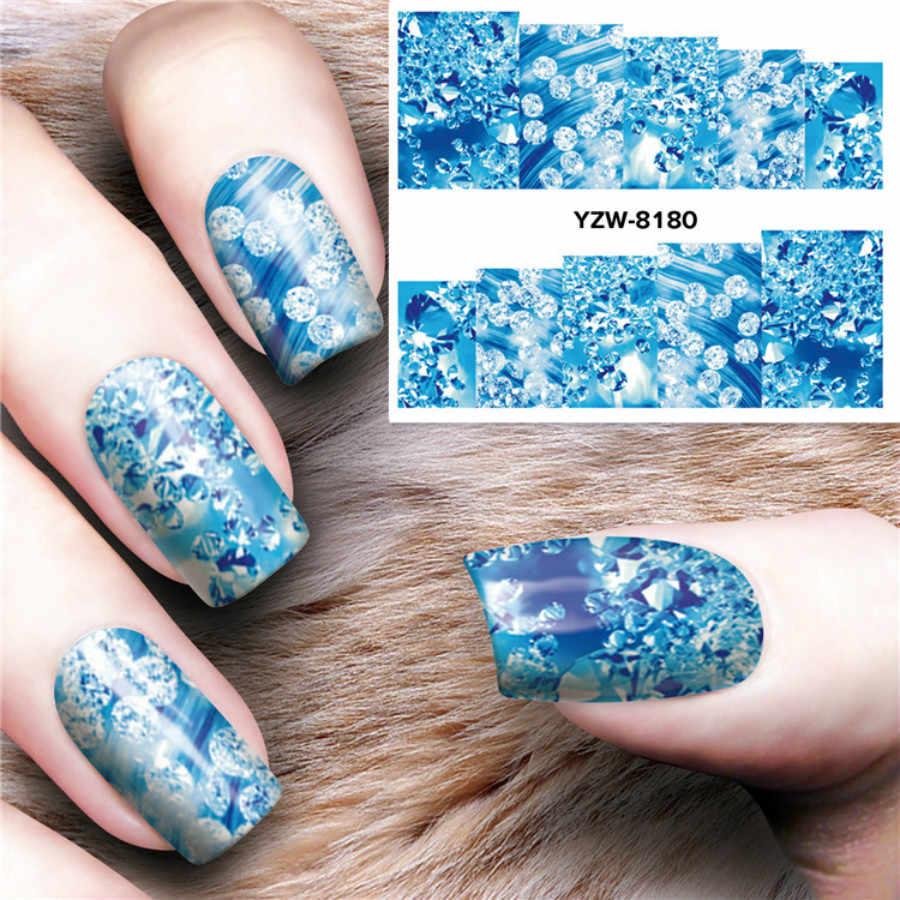 1pcs Magic Bloem Nail Art Sjablonen Pure Clear Jelly Siliconen Nail Stempelen Plaat Schraper Cap Transparante Nail Fashion Meisje y79