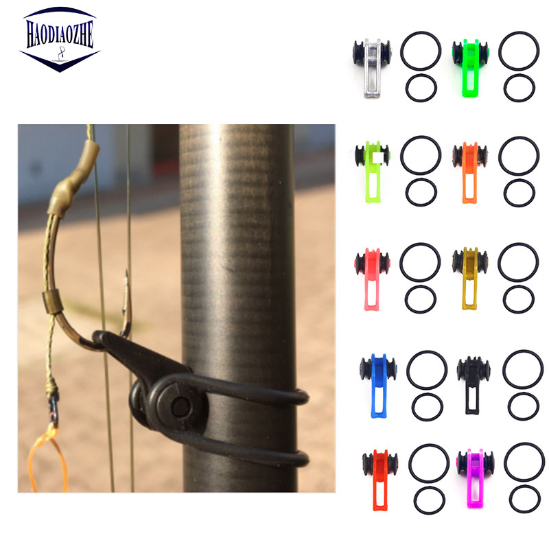 10pcs/bag Plastic Fishing Hook Secure Keeper Holder Lure Accessories Jig Hooks Safe Keeping For Fishing Rod Tool Bait Casting(China)