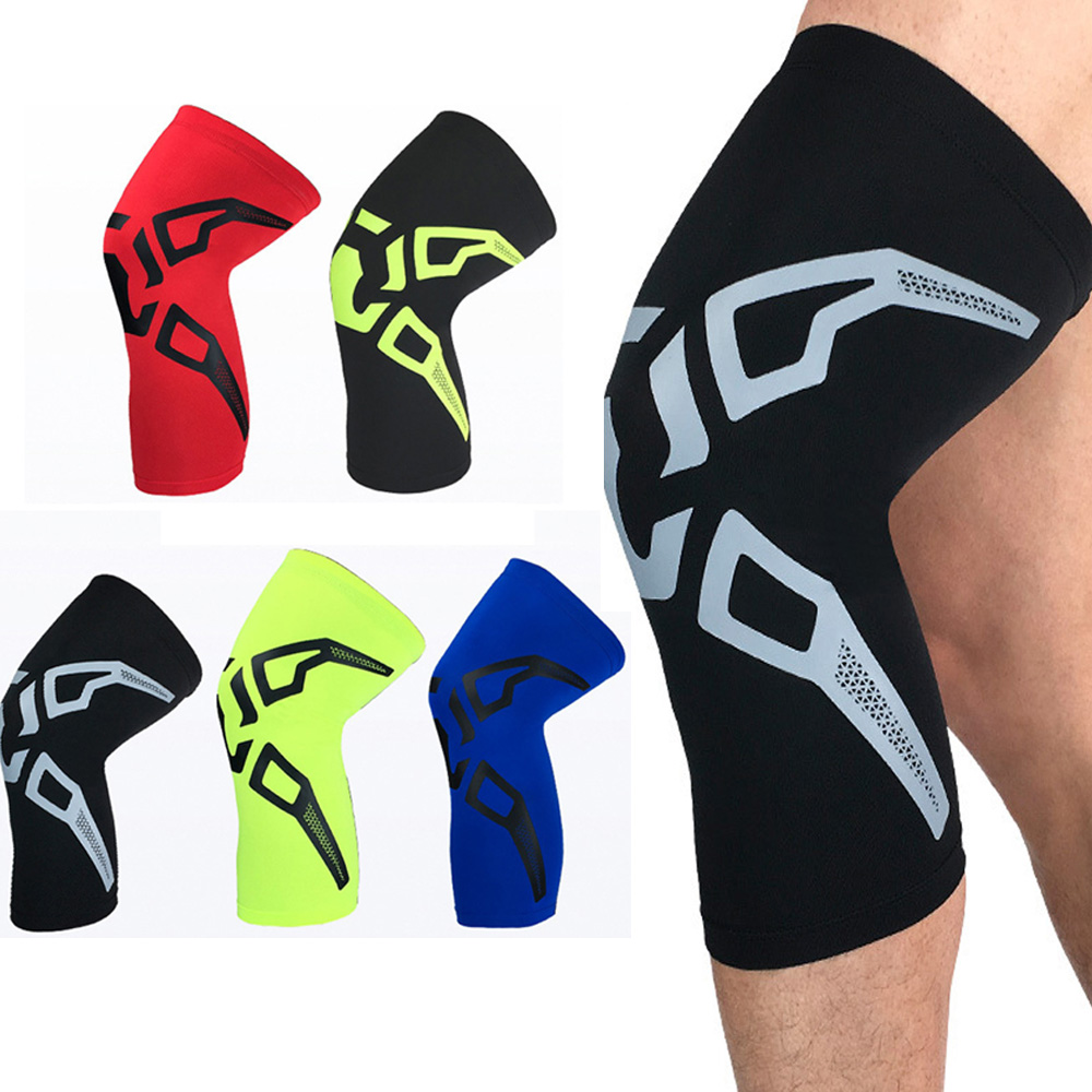 Sports Support Short Knee Protectors Fashion Pattern Basketball Protective Gear SPSLF0016