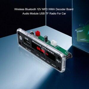 Image 5 - 5V 12V Wireless Bluetooth MP3 WMA Decoder Board Audio Module Support USB SD AUX FM Audio Radio Module For Car Accessories