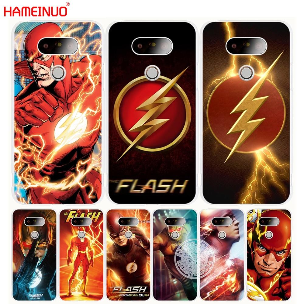 HAMEINUO the flash flush man super herocase phone cover for LG G6 G5 K10 K7 K4 Spirit magna