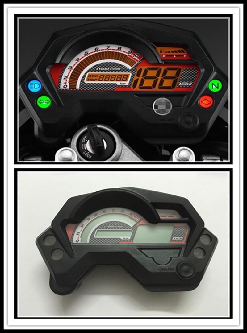 gratis frakt Moto meter FZ16 FZ 16 (150cc) digitalmätare Speedo - Motorcykel tillbehör och delar