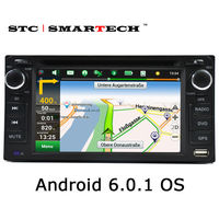 SMARTECH Car Multimedia Player GPS Navigation 2din Car DVD Player Head Unit For TOYOTA Corolla Camry