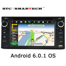 SMARTECH car multimedia player GPS navigation 2din car DVD player head unit for TOYOTA Corolla Camry Rav4 Previa HILUX Prado