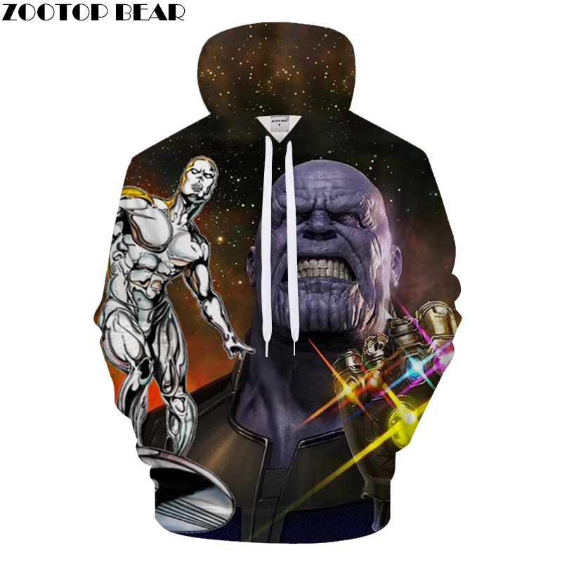 New Avenger alliance 3D Digital Print Hoodies Men Casual Sweatshirt Brand Tracksuit Pullover Hoodie Hooded Coat Drop Ship