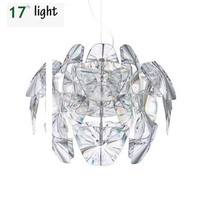 Clear LED E27 Modern D61/72CM Hope pendent lamp acrylic Lampshade pendent suspension lighting bedroom Lamp Fixtures