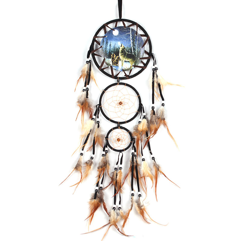 2017 New Arrival Beauty Dream Catcher Wall Hanging Ornament Dreamcatcher Dream Catchers Decor For Home PTSP