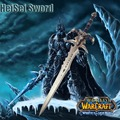 Cosplay WOW The Lich King Sword Frostmourne 1:1 Game Anime Western Sword Stainless Steel Real Weapon