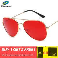 DIGUYAO classique mode lunettes de soleil femmes Multi mdégradé lunettes de soleil hommes conduite miroir lunettes pilotes Points marque Oculos de sol