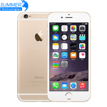 Original Entsperrt Apple iPhone 6 Dual Core 1 GB RAM 4,7 zoll IOS 1.4 GHz Telefon 8,0 MP Kamera 3G WCDMA 4G LTE 16/64/128 GB ROM