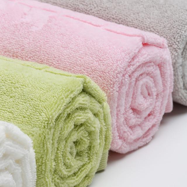 34x74 cm 100% Cotone Assorbente di Colore Solido Morbida E Confortevole di Alta Qualità Degli Uomini Delle Donne Bagno di Famiglia A Mano Asciugamano