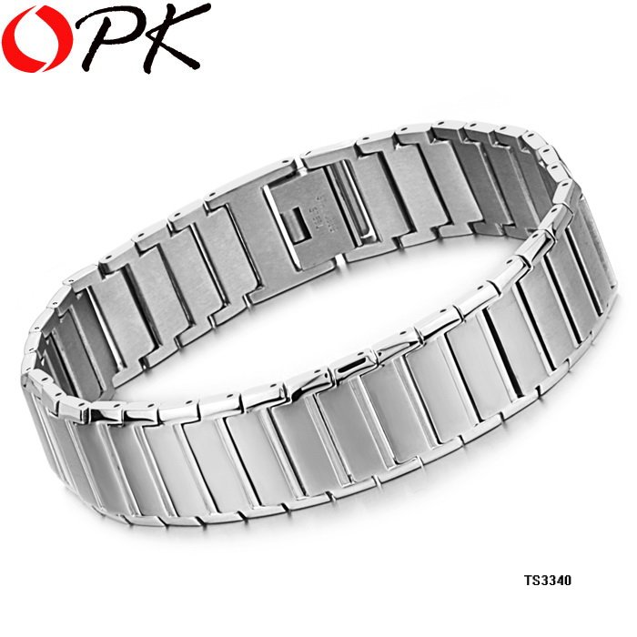 Aliexpress.com  Buy OPK JEWELRY Casual Style STAINLESS STEEL Watch band  bracelet width 14mm Large Cuff infinity Fashion Men jewelry, 3340 from  Reliable