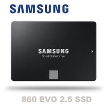 סמסונג 860 EVO 860EVO 250GB 250G 2.5 SATA3 SSD מחשב מחשב שולחני שרת 2.5 הפנימי Dribe 500GB 1TB