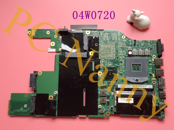 Laptop Motherboard for lenovo ThinkPad E520 mainboard FRU 04w0720 Intel GMA HD HM65 Integrated High quality for lenovo thinkpad x200 intel gm45 motherboard 43y9980 48 47q06 031 intel gma x4500