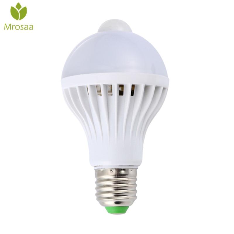 Mrosaa AC85 265V Night Light Led Bulbs E27 5W 7W 9W LED
