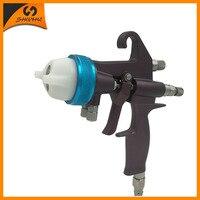 Nano Chrome Double Nozzle Mini Spray Gun Chocolate Chrome Plating Painting Gun SAT1202