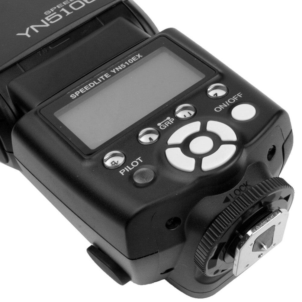 2014 Hot sale Doprava zdarma YONGNUO YN510EX YN-510EX Off kamera - Videokamery a fotoaparáty - Fotografie 6