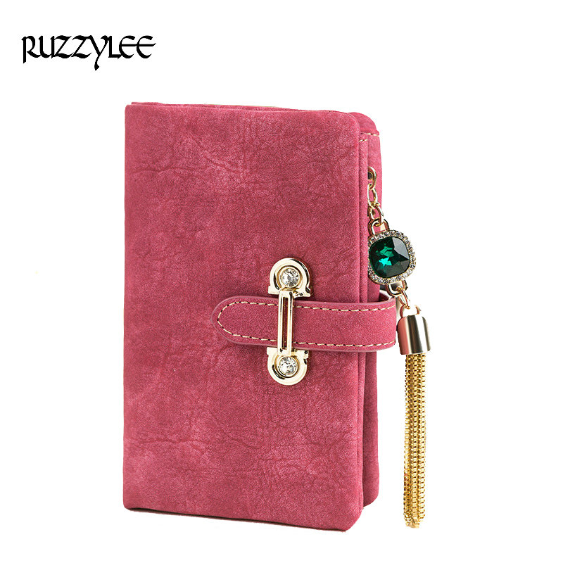 Fashion Hasp Women Long Wallet Multi Functional Solid color Female Wallets Handbag Clutch Card Holder Top Quality Portefeuille fashion hasp and solid color design wallet for women