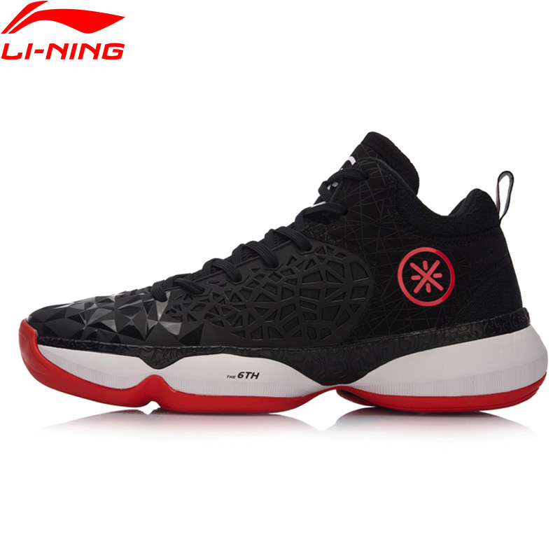 Li-Ning Men Shoes Wade The SIXTH MAN Winter Edition Professional Basketball Shoes Wearable Li Ning Sneakers Sports Shoes ABAM049 li ning original men s professional basketball shoes wade sixth man high sport shoes sneakers zapatos de baloncesto abal013