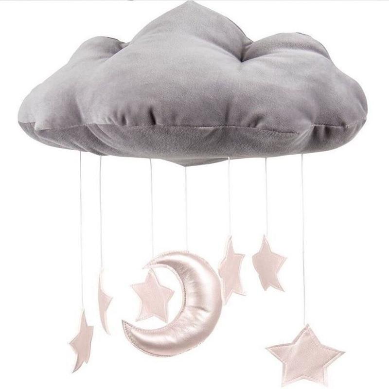 kamimi cloud moon Kids Bedroom Hanging Wall Decoration photography prop toys Christmas B ...