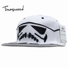 Cartoon Star Wars Snapback Cap Cavalry Stormtrooper Baseball Caps Women Men Anime Hip Hop Hat Stylish Cool Brim Bones Aba Reta