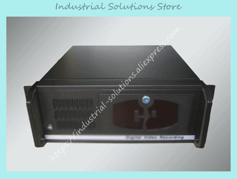 New 4U Computer Case Kumgang Ofnanyi 4U Server Computer Case 12 Hard Drive new ultra short 3u computer case 38cm 8 hard drive pc large panel atx power supply 3u server industrial computer case