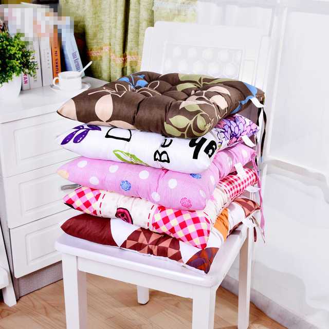 Small Comfortable Chair Seat Cushion Multi Color Seat Cushion Home  Decorative Pillow Soft Office School Chair
