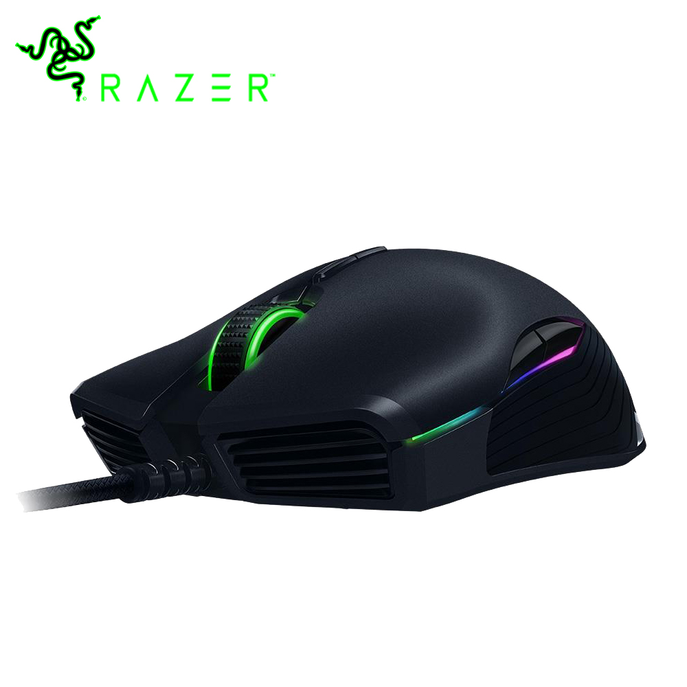 Razer Lancehead Tournament Edition Wired Gaming Mouse 16000 DPI 9 Buttons 5G Optical Sensor eSport Gaming