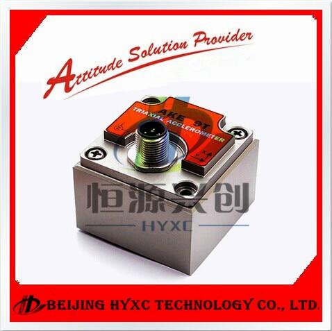 AKE392B aukštos kokybės pramoninis skaitmeninis vibracijos jutiklis, 3 ašių vibracijos jutiklis su skaitmeniniu RS232 / RS485 / TTL išėjimu, IP67