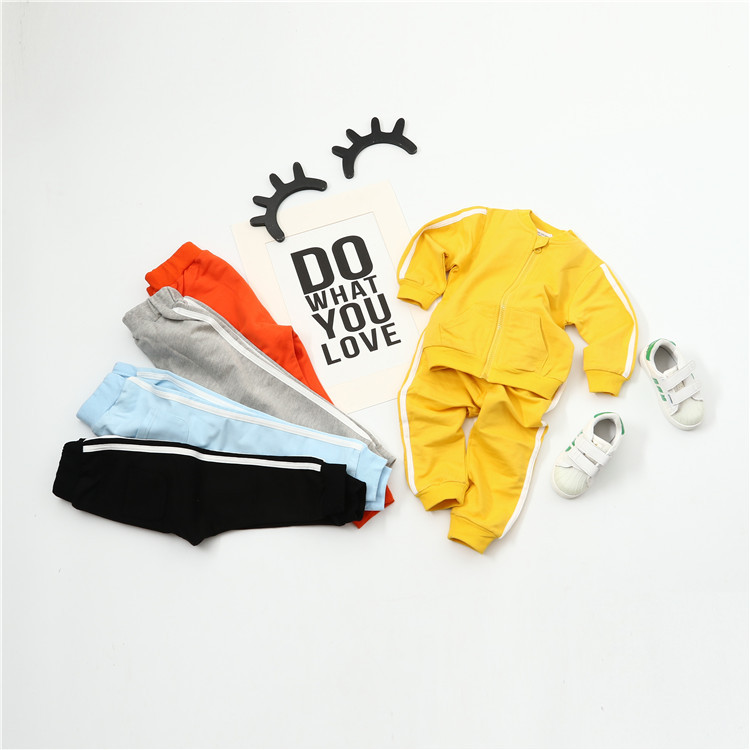 Kids Clothes Boy 2017 Baby Boys Autumn Hoodies Coats and Jackets Pants Set Korean Fashion Children Clothing Sports Suit for Girl eaboutique new winter boys clothes sports suit fashion letter print cotton baby boy clothing set kids tracksuit