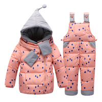 Girl Ski Suit Snow Suit One Piece For Toddler Kids Girl Winter Coat Christmas Day Coats