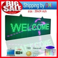 P10RGB напольный водонепроницаемый светодио дный billboard/Программируемый светодио дный прокручивающееся сообщение знаки/для роликов и вывески