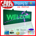 P10RGB full color outdoor waterproof led billboard / programmable LED scrolling message signs / for commercials and shop signs
