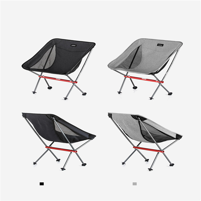 Image 5 - Naturehike Portable Folding Chair Outdoor Ultralight Fishing Stool Director Camping Beach Chair Art Sketch Chairs-in Camping Chair from Sports & Entertainment