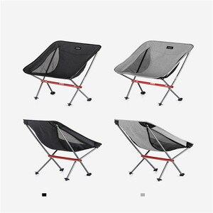 Image 5 - Портативный складной стул Naturehike, ультралегкий уличный стул для рыбалки, походный пляжный стул, художественные стулья для набросков