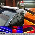 """12/24V 34"""" 64W 64 LED Car Truck Strobe Emergency Warning Flashing Light Bar Beacons Lights Lamp Red Blue Amber White 860mm"""