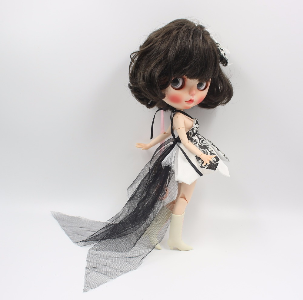 Neo Blythe Doll Beautiful Dress With Bow 4
