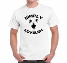 Mens Novelty T Shirt SIMPLY LOVELEH Adult Humour Shocked Owl New Shirts Funny Tops Tee Unisex